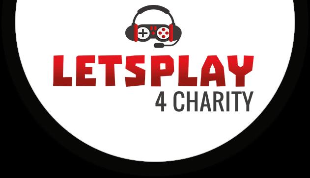 Das Bild zeigt das Logo von Lets play 4 Charity