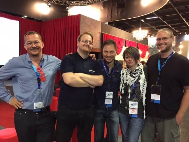 Das Team hinter Heaven´s Hope auf der GamesCom