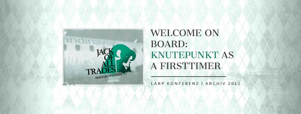 Beitragsbild Knudepunkt as a Firsttimer - Larp Konferenz