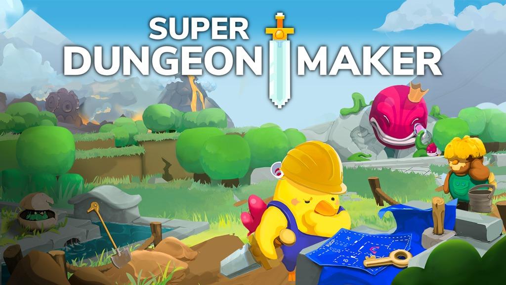 Super Dungeon Maker Key Artwork