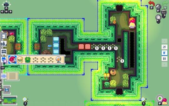 Super Dungeon Maker - Screenshot aus dem Builder Mode